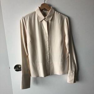 👗 vintage 100% silk blouse